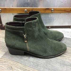 Aerosoles Heelrest Green Suede Women Size 7
